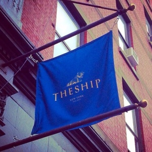 Located at 158 Lafayette Street, between Grand and Howard lies a hidden gem known simply as, The Ship. Don't blink, or you may miss the entrance which is only marked by a single flag.